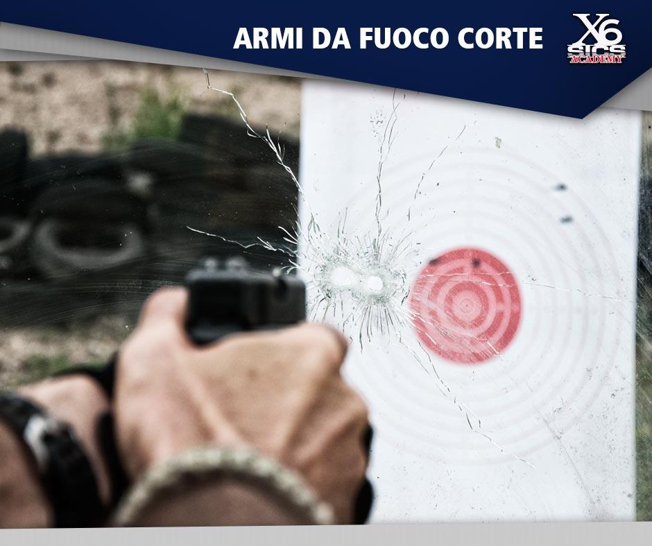 corso di formazione per armi da fuoco corte